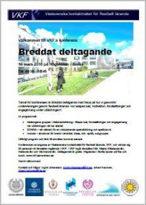 VKF-konferens: Breddat deltagande 2016-03-10