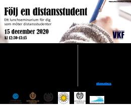 Lunchseminarium: Följ en distansstudent, VKF